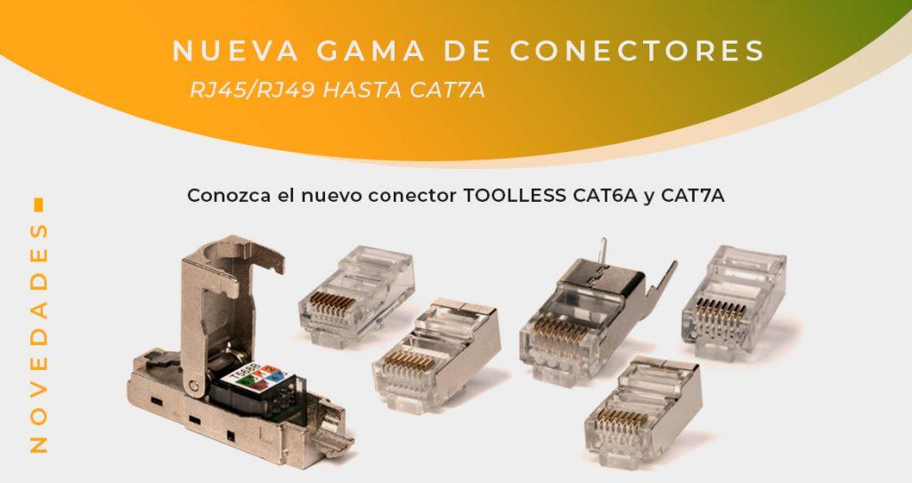 conectores para cables de red LAN