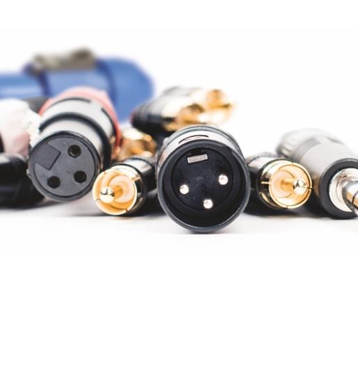 Conectores Sonido e Iluminación